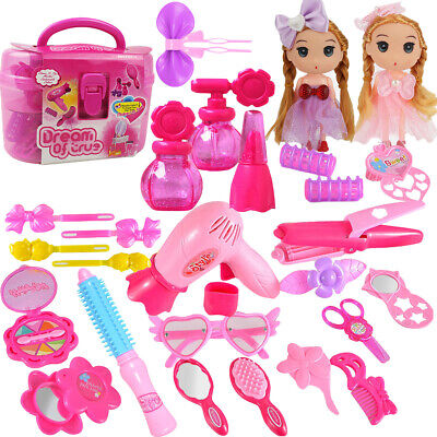 Toys For Girls Pretend Make up Vanity Kit Role Play Set 3 4 5 6 7 8 9 Year Old