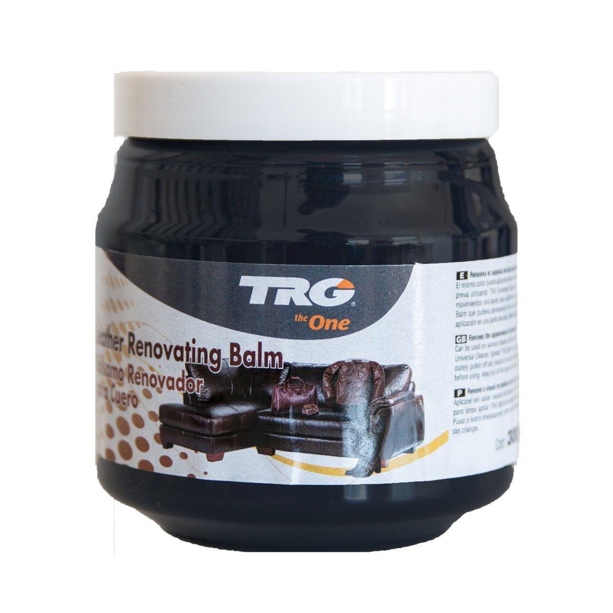 TRG Lederbalsam Farbe schwarz 300 ml - Lederpflege - Schuhcreme - Lederfarbe
