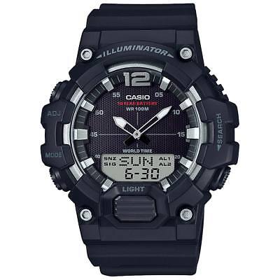 Casio HDC700-1AV, 10 Year Battery Watch, World Time, Chrono, 3 Alarms, Telememo