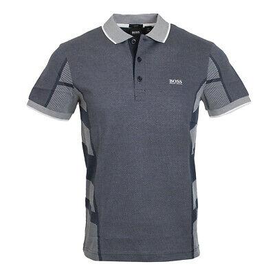 Hugo Boss Mens Slim Fit Paule 6 Polo Shirt 50420979 410 Navy