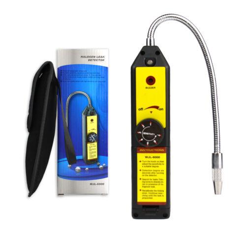 FAVORCOOL WJL-6000 AC Freon Halogen Leak Detector Refrigerant R22 R410A R134A