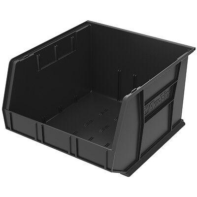 Akro-mils 30270black Black Stack Hang Bin 11h X 16-12w X 18d 3pk