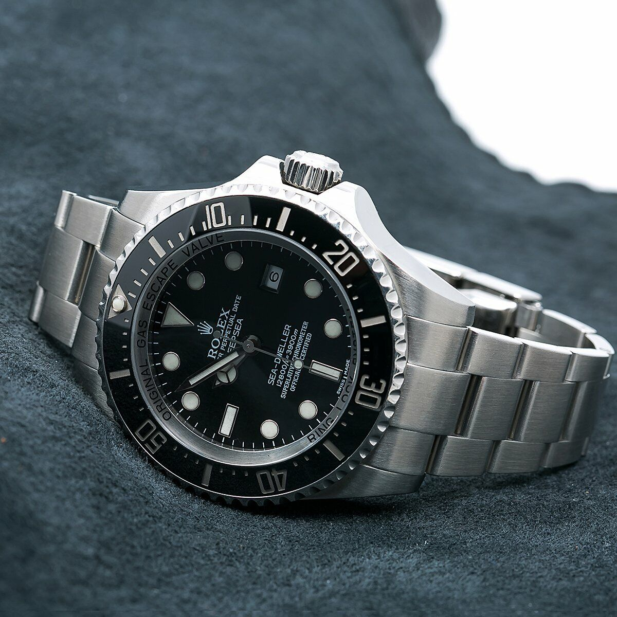 Details about Rolex Sea,Dweller Deepsea 116660 44MM Black Dial With  Stainless Steel Bracelet