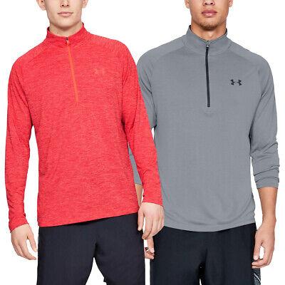 Under Armour Mens UA Tech 2.0 1/2 Zip HeatGear Training Sweater 33% OFF RRP