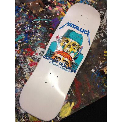 Metallica Limited Edition Pushead Skateboard skate deck Lovenskate zorlac rare