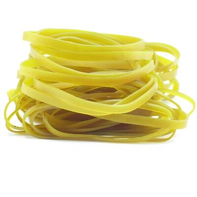Rubber Bands 10mmlfl X 5mmw Close To Size 65 Large Natural Strong Elastic