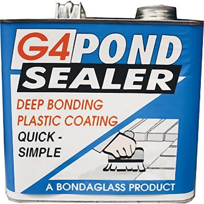 G4 Polyurethane Pond Sealer 2.5KG Clear