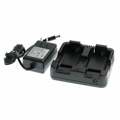 Battery Charger Trimble M3 Tsc2 Nomad Nikon Nivo 2m2c Dpl-322 Total Station