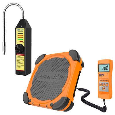 Elitech Wjl-6000s Refrigerant Leak Detector Lmc-200 Charging Scale Hvac Ac Tool