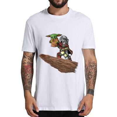 Cute Baby Yoda T-shirt Mandalorian Star Wars Fan Gift  Men's Hoodies Tops Xmas ()