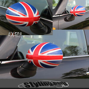 MINI-ONE-COOPER-F56-F55-F57-CAPS-Union-Jack-color-Rojo-Blanco-Azul