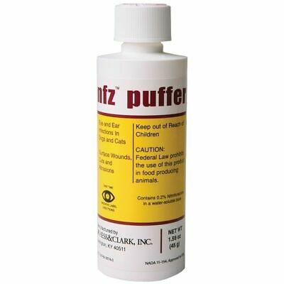 Dog Eye Ear Care (NFZ Puffer Nitrofurazone animal wound care Ear and Eyes Infections Dogs &)