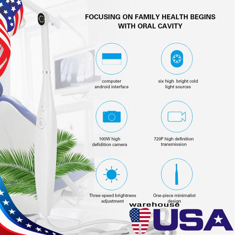 6 LED light Dental Intraoral Camera USB Digital Imaging Intra Oral Endoscope