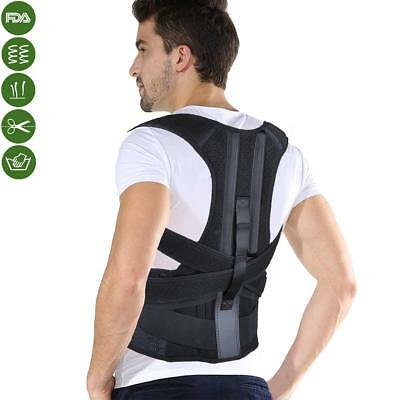 Posture Corrector, Back Brace with Lumbar Support to Improve Bad Posture for Wom