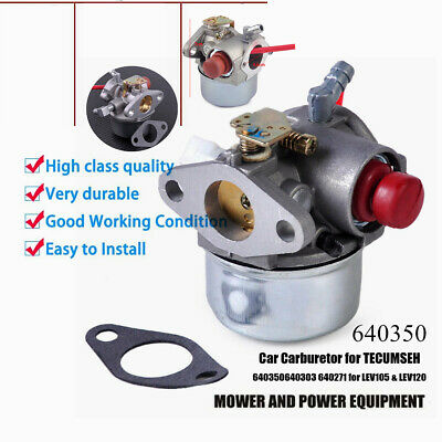 Carburetor Carb for TECUMSEH 640350 640303 4.5HP 5HP 5.5HP 6HP 6.5HP 6.75HP ()