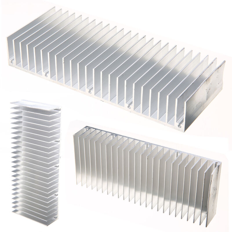 4Pcs 150mm*60mm*25mm Heat Sink Aluminum Heatsink Cooling Fin