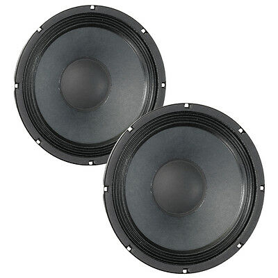 Pair Eminence Alpha-10A 10 inch Midrange MidBass Guitar Speaker Woofer 8ohm 300W
