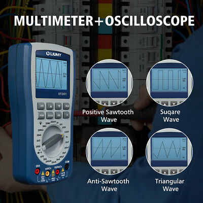 Digital Handheld Storage Oscilloscope Mt8205 Intelligent Multimeter Diode Tester