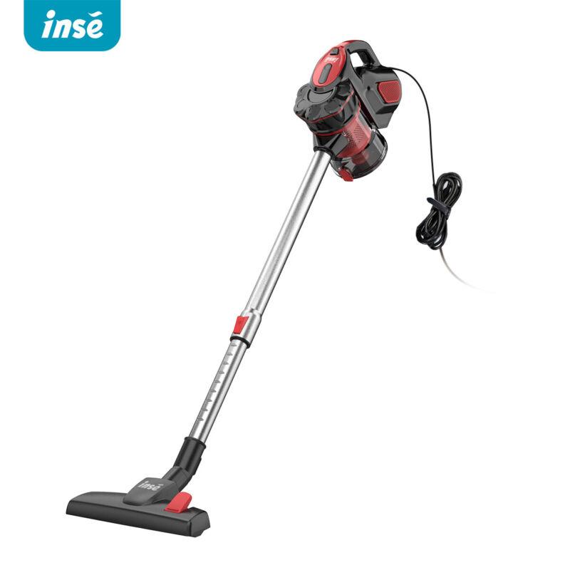 18kpa Vacuum Cleaner 2 In 1 Handheld Stick Led Brush Car Carpet Floor Sweeper