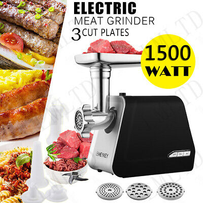 1500W Electric Meat Grinder Kitchen Food Sausage  Mincer Stainless BEST SELL