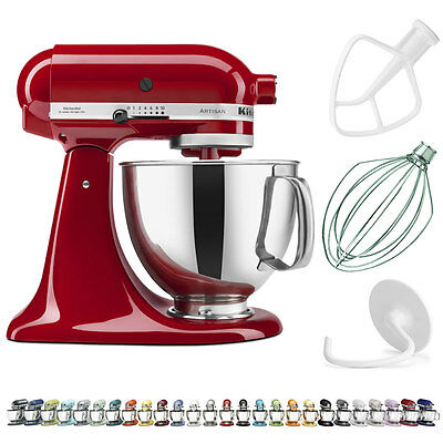 مضرب كهربائي  KitchenAid® Artisan® Series 5 Qt. Tilt Head Stand Mixer Refurbished , RRK150