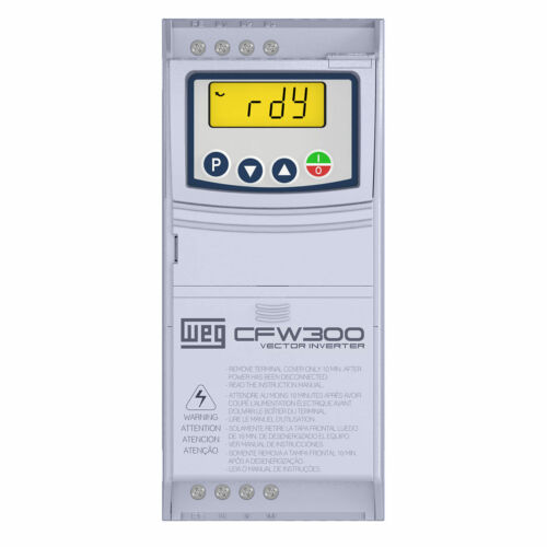 *WEG VARIABLE FREQUENCY DRIVE CFW300A04P2S1NB20 FOR 1 HP 110-127 VAC 1 PHASE