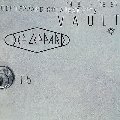 DEF LEPPARD VAULT GREATEST HITS 180 GRAM 2-LP SET (Released June 15th)