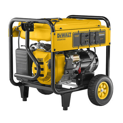DeWALT 7000 Watt Portable Generator (reconditioned) | Electric Start | DXGNR7000