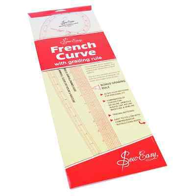 Sew Easy French Curve - Imperial (for Sewing/Dressmaking)