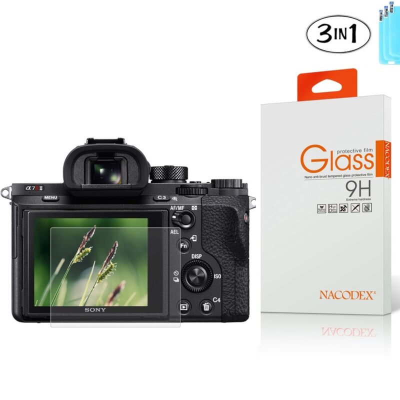 [3x] HD Tempered Glass Screen Protector For Sony RX100 / A7M2 / A7R / A7R2