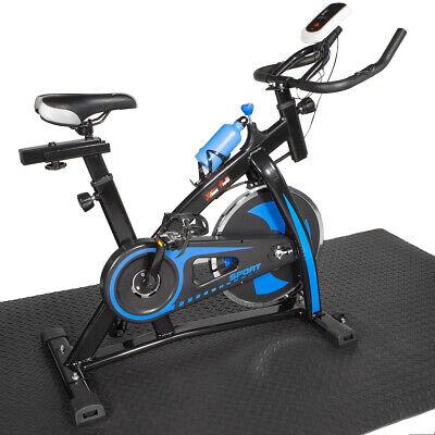 Premium Indoor Cycle Trainer Fitness Bike w/ Water Bottle St