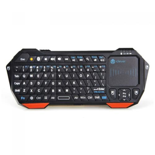 iClever Wireless Mini Bluetooth Keyboard With Touchpad Fo...