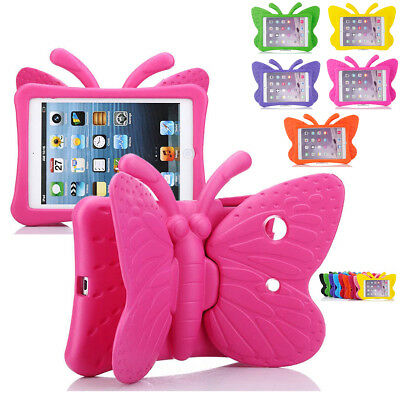 Butterfly Kids (Butterfly Shockproof Kids Childrens Case Cover For iPad 2 3 4 9.7 Mini 1234)