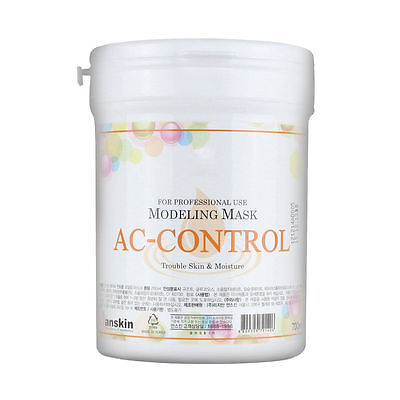 AnSkin AC-CONTROL Modeling Mask Powder Pack Trouble Sensitive skin care 700ml