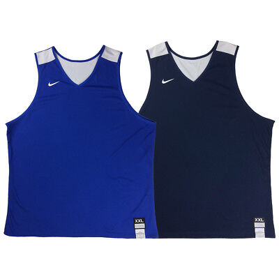Nike Mens Elite Reversible Basketball Training Tank Top Shirt Navy/Blue 802330
