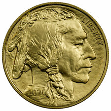 2020 1 oz Gold American Buffalo $50 Coin GEM BU SKU59618