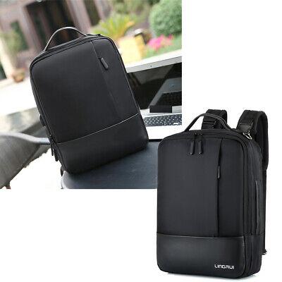 Laptop Rucksack Wasserdicht Anti-Diebstahl Business Tasche 15.6zoll Schwarz