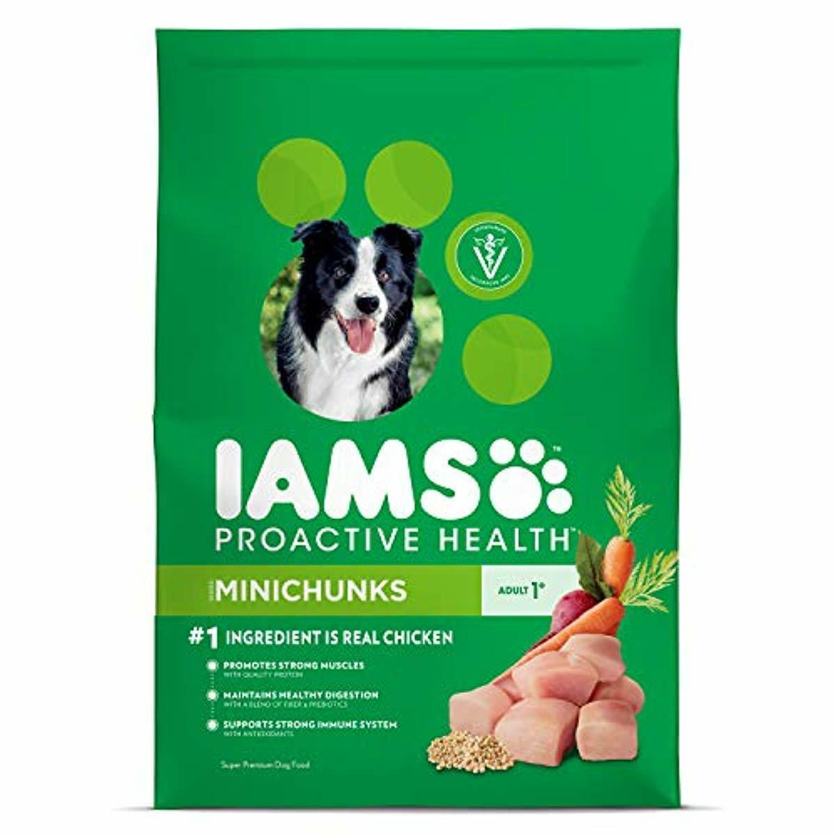 35gIams Proactive Health Minichunks Chicken Dry Dog Food