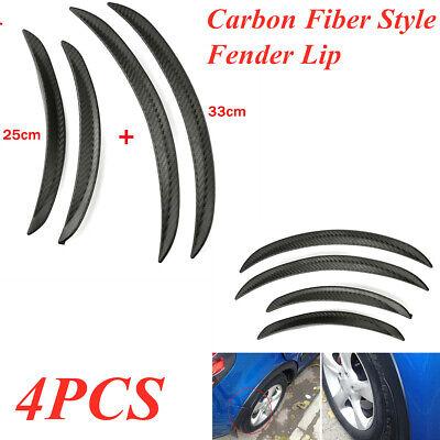 4x Carbon Fiber Body Kits Fender Flares Wheel LIP Car SUV Truck Part Pontiac Montana Body Parts