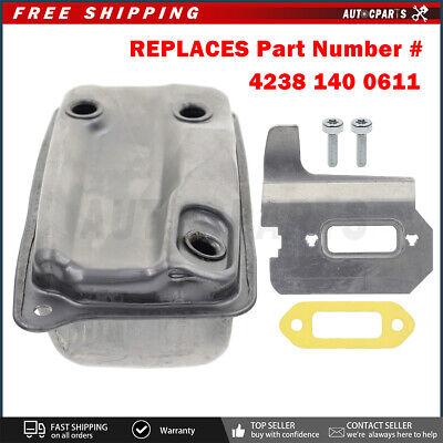 For Stihl Ts 410 Ts420 4238 140 0611 Muffler Cooling Plate Bolts Gasket