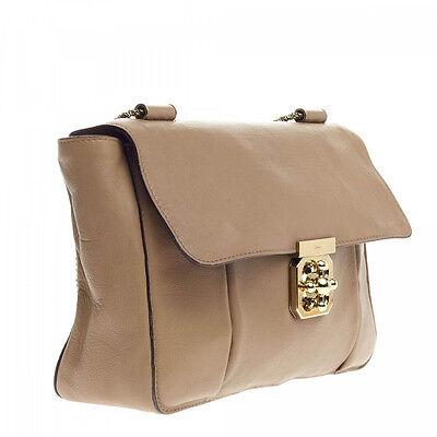 NEW Chloe Small Elsie Shoulder Bag-Biscotti Beige  for sale  USA