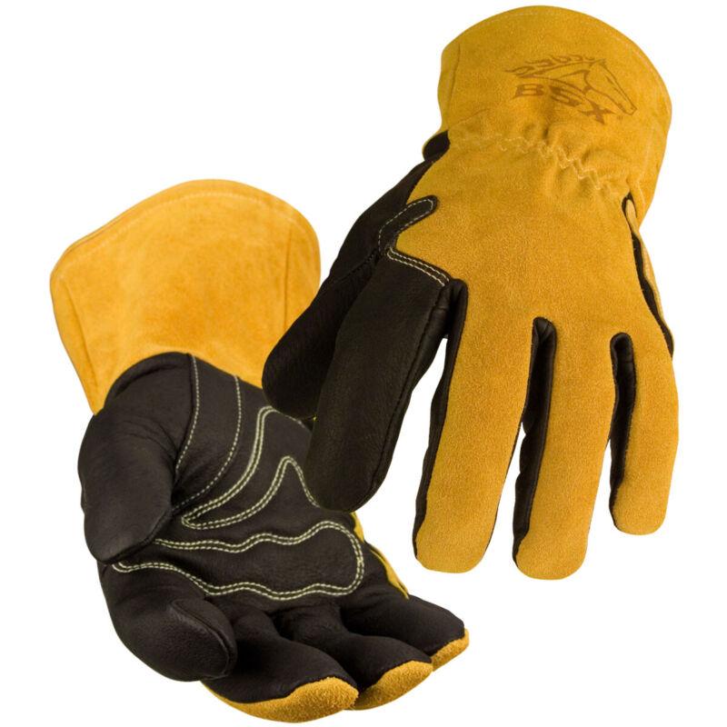 Revco Black Stallion BM88 Premium Grain Pigskin MIG Welding Gloves - XL