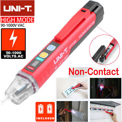 Uni-t 901000v Non-contact Ac Electrical Tester Pen Voltage Detector With Led