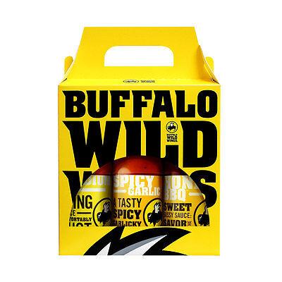 Buffalo Wild Wings Sauce - 3 Bottles