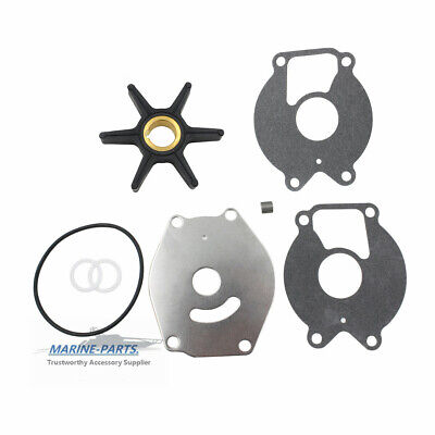 Outboard Water Pump & Impeller Kit 47-85089Q4 MERCURY MARINER 15-25HP 2-CYCLE (25 Hp Mercury Outboard)