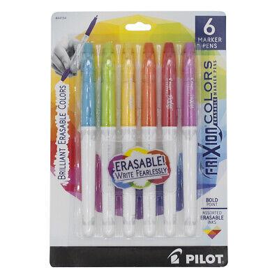 Pilot Frixion Colors Erasable Marker Pen Bold Point 2.5mm Fashion Colors 6box