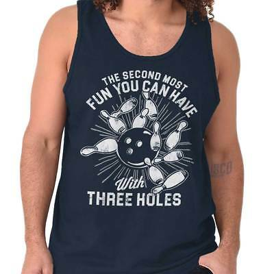 Fun With Three Holes Funny Shirt Cool Gift Idea Bowling Edgy Tank Top - Bowling Gift  sc 1 st  MegaCostum.com & Bowling Gift Ideas at MegaCostum.com - Halloween Costume Store