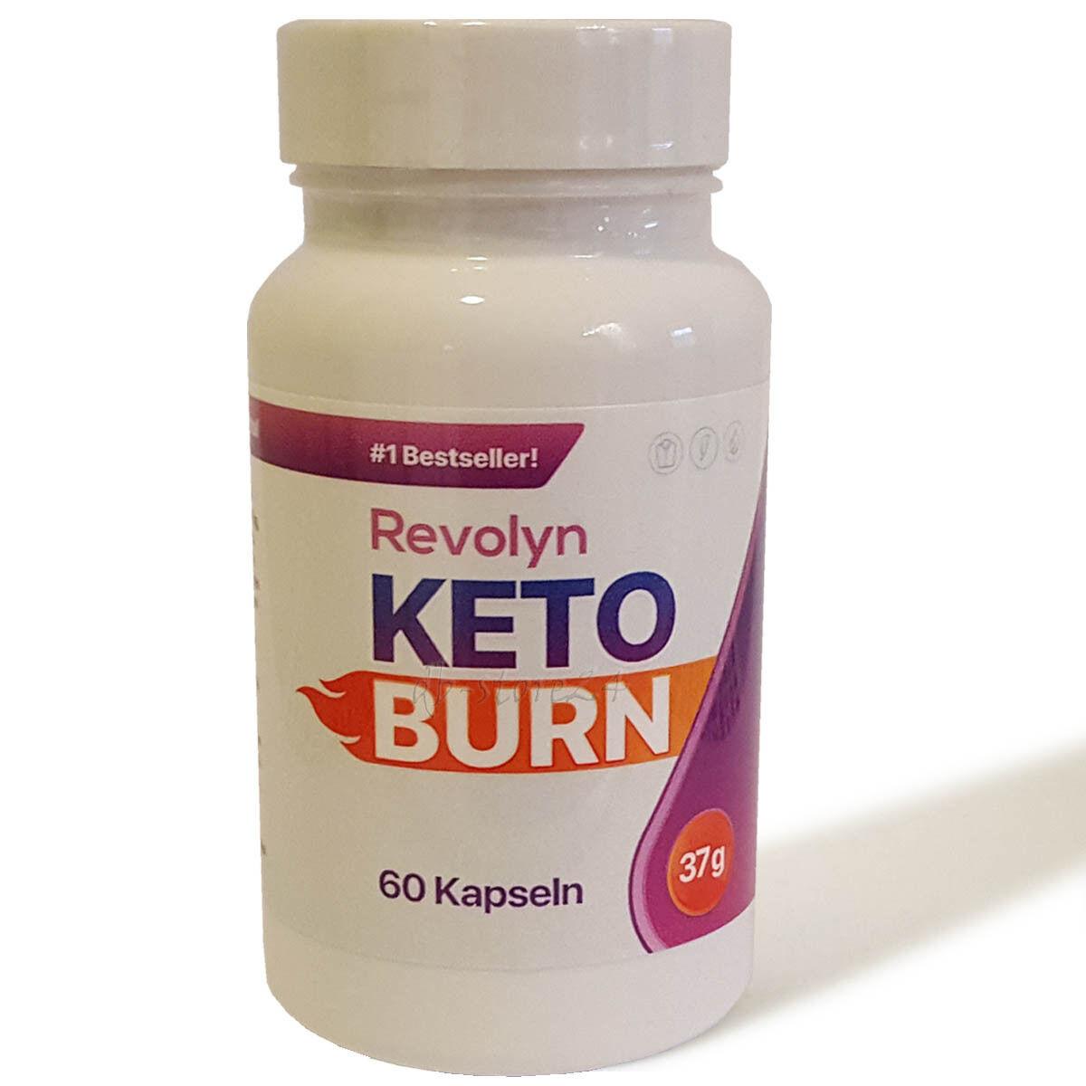 Revolyn KETO BURN Fettverbrennung Gewichtsreduzierung Diät