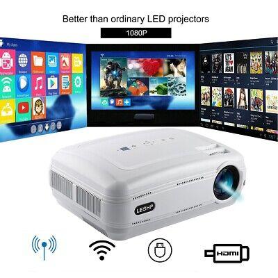 DE# 12000 Lumen 1080P WIFI Projektor Bluetooth LED 3D Heimkino Beamer Multimedia