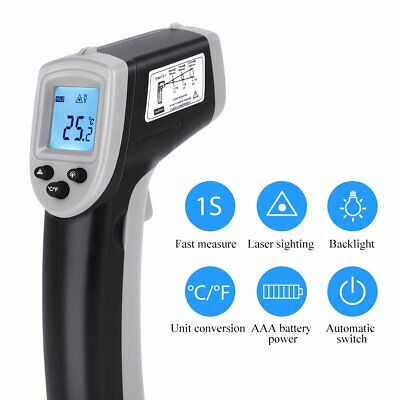Handheld Digital Laser Thermometer Temperature Non-contact Ir Infrared Gun